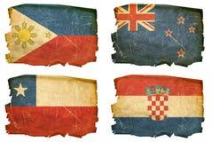 Vastgestelde Vlaggen oude # 9 Royalty-vrije Stock Afbeeldingen