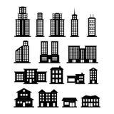 De reeks van de bouw royalty-vrije illustratie