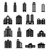 De reeks van de bouw stock illustratie