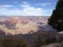 The vastness of the canyon Royalty Free Stock Photos