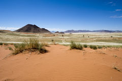 Vastness in the desert of Namibia Royalty Free Stock Image