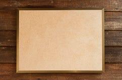 Vasto fondo di legno del bordo di struttura dello spazio in bianco immagini stock