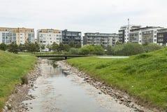 Vastra Hamnen område i Malmo Sverige Royaltyfri Foto