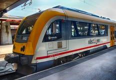 Vasttagen firmy pociąg w Goteborg środkowej staci kolejowej, 21/ Zdjęcie Stock