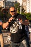 Vasyl Virastyuk L'homme le plus fort 2004 et 2007 Photo libre de droits