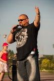 Vasyl Virastyuk L'homme le plus fort 2004 et 2007 Image libre de droits
