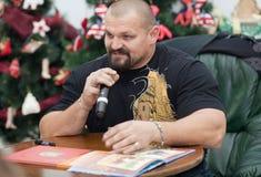 Vasyl Virastyuk. O homem o mais forte 2004 e 2007 Imagem de Stock