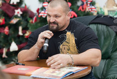 Vasyl Virastyuk. Strongest man 2004 and 2007 Stock Image