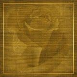 Vat achtergrond met gouden frame samen Royalty-vrije Stock Fotografie