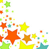Vat achtergrond met sterren samen Stock Afbeelding