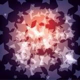 Vat achtergrond met sterren samen royalty-vrije illustratie
