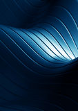 Vat blauwe golvenachtergrond samen Stock Fotografie