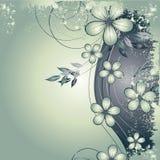 Vat bloemenachtergrond samen vector illustratie