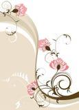 Vat bloemenachtergrond samen Stock Afbeelding