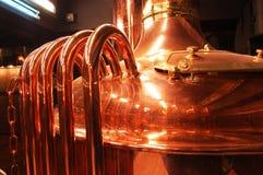 Vat brewing Royalty Free Stock Photos