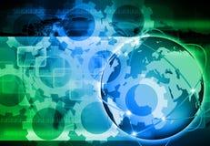 Vat de wereldtechnologie samen Royalty-vrije Stock Afbeelding