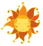 Vat de zon samen Stock Illustratie