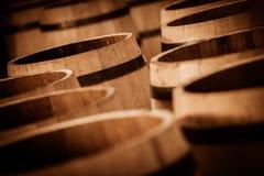 Vat die in Bordeaux Wineyard maken royalty-vrije stock afbeelding