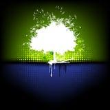 Vat Grungy Boom samen vector illustratie