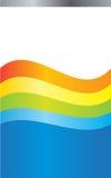 Vat kleurenachtergrond samen Stock Foto