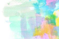 Vat kleurrijke waterverfachtergrond samen vector illustratie