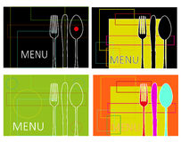 Vat menu samen Stock Fotografie