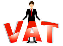 Vat payable Royalty Free Stock Photography