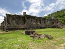 Vat Phou de werelderfenis van Laos Royalty-vrije Stock Afbeeldingen