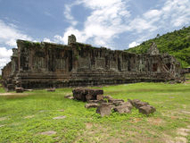 Vat Phou The world heritage of Laos Royalty Free Stock Images