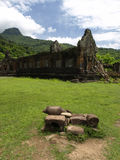 Vat Phou The world heritage site of Laos Stock Images