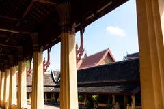 Vat Sisaket, Vientiane Royaltyfria Foton