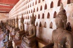 Vat Sisaket, Vientiane Royaltyfri Fotografi