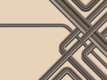 Vat trendy gestreepte achtergrond samen vector illustratie