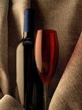 Vat Van het Achtergrond glaswerk van de Wijn Ontwerp samen Stock Foto