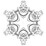 Vat vector bloemenontwerp samen vector illustratie