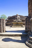 vatadage статуи sri lanka Будды Стоковая Фотография RF