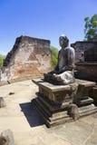 vatadage статуи sri lanka Будды Стоковые Изображения