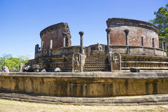Vatadage, Polonnaruwa, Sri Lanka Royalty Free Stock Photography