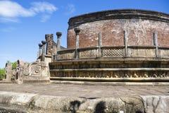 Vatadage, Polonnaruwa, Sri Lanka Stock Images