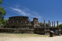 vatadage sri polonnaruwa lanka Стоковые Фотографии RF