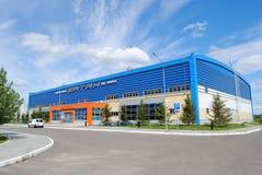 Vatan Ice Sports Complex in Kazan. Built for the Universiade 2013 stock photo