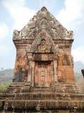 Vaten Phou fördärvar, Champasak, Laos Arkivbilder