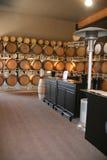 Vaten wijn Royalty-vrije Stock Foto's