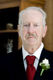 Vater der Braut stockfotografie