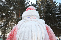 Vater-Frost-Skulptur Stockbild