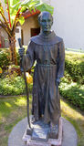 Vater Junipero Serra Statue Mission San Buenaventura Ventura Ca Stockbild
