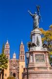 Vater Miguel Hidalgo Statue Dolores Hidalgo Mexiko lizenzfreies stockfoto