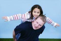 Vater mit Kind Lizenzfreies Stockfoto