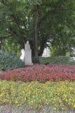Vater slowenischen Literatur Trubar-Monuments in Ljubljana, Slove lizenzfreies stockbild