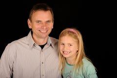 Vater u. Tochter Lizenzfreie Stockfotos